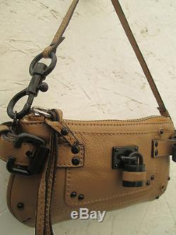 -AUTHENTIQUE petit sac à main type soirée CHLOÉ cuir TBEG vintage bag