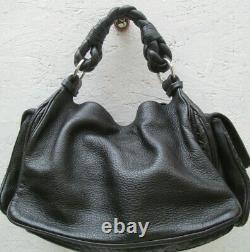 -AUTHENTIQUE sac à main BOTTEGA VENETA cuir TBEG vintage bag