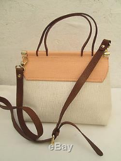 -AUTHENTIQUE sac à main BRACCIALINI cuir TBEG vintage bag