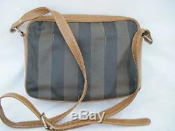 -AUTHENTIQUE sac à main FENDI cuir (T)BEG vintage bag