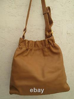 AUTHENTIQUE sac à main FURLA cuir TBEG vintage bag /