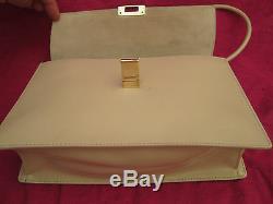 -AUTHENTIQUE sac à main GUCCI cuir TBEG vintage bag 70's