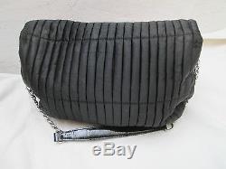 AUTHENTIQUE sac à main HOGAN toile et cuir TBEG bag vintage /