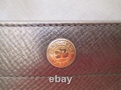 -AUTHENTIQUE sac à main LONGCHAMP cuir TBEG vintage BAG A4