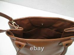 -AUTHENTIQUE sac à main LONGCHAMP cuir TBEG vintage bag