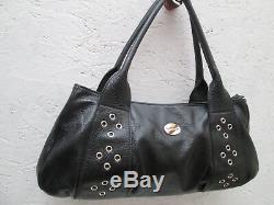 -AUTHENTIQUE sac à main MAC DOUGLAS cuir TBEG vintage bag