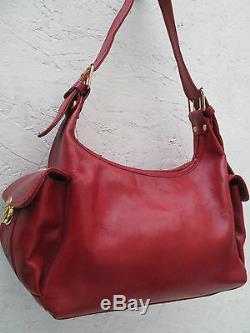 -AUTHENTIQUE sac à main MARINO ORLANDI cuir TBEG vintage bag