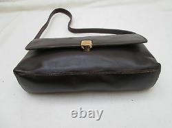 AUTHENTIQUE sac à main RALPH LAUREN cuir (T)BEG bag à sasir