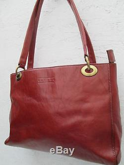 -AUTHENTIQUE sac à main TEXIER cuir TBEG vintage bag