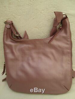 -AUTHENTIQUE sac à main bandoulière LONGCHAMP cuir TBEG vintage bag