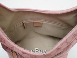 -AUTHENTIQUE sac à main vintage GUCCI toile TBEG bag