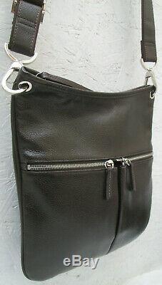 -AUTHENTIQUE sac bandoulière LONGCHAMP cuir TBEG vintage bag