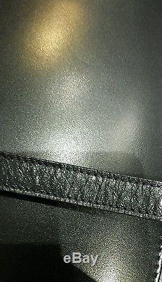 Anse de sac HERMÈS cuir noir Modèle ancien