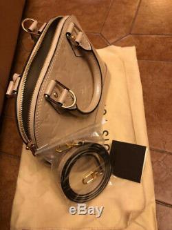 Authentique Sac à main femme Louis Vuitton état neuf Alma cuir Monogram vern