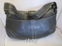 Authentique et beau sac à main en cuir COACH vintage bag /