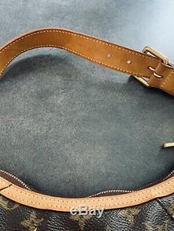 Authentique sac Louis Vuitton monogram cuir