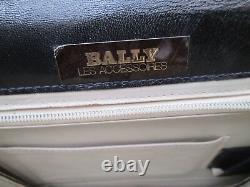 Authentique sac à main BALLY cuir vintage bag