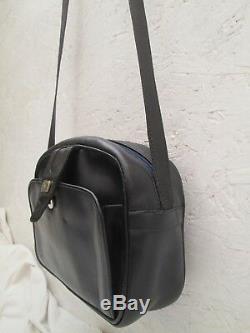 Authentique sac à main CELINE Paris cuir vintage bag