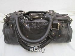 Authentique sac à main CHLOÉ Paddington cuir vintage