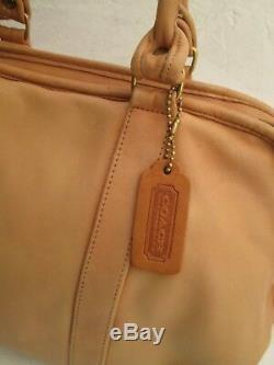 Authentique sac à main COACH cuir vintage bag