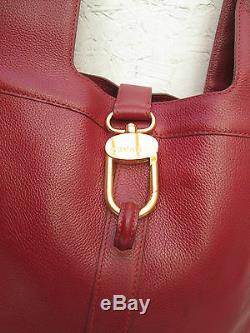 Authentique sac à main DELVAUX Bruxelles cuir vintage bag