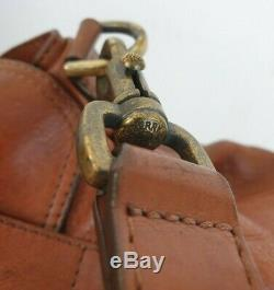 Authentique sac à main MULBERRY cuir vintage avec bandoulière