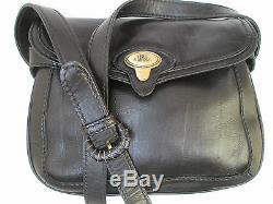 - Authentique sac à main THE BRIDGE cuir TBEG bag vintage