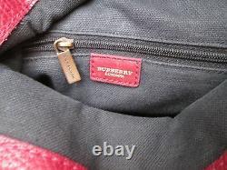 BURBERRY en cuir sac à main parfait état vintage bag /
