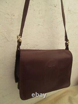 CARTIER vintage en cuir authentique sac à main bag