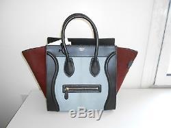 Poulain Mini Tricolore Neuf Et Luggage Cuir Celine WDY9eHIE2