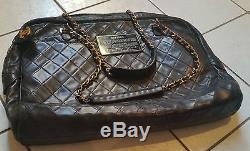 Chanel Lambskin Bag Sac A Main Borsa Hobo Leather Cuir Wallet 2.55 Timeless Rare