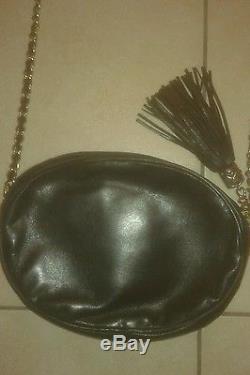 Chanel Sac Vintage Grand Modele Tbe Cuir D Agneau Noir Authentique
