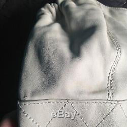 CHANEL Sac à main COCO Cabas Large cuir écru