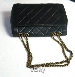 CHANEL sac cuir matelassé DIANA Timeless 2.55 Ledertasche leather shoulder bag