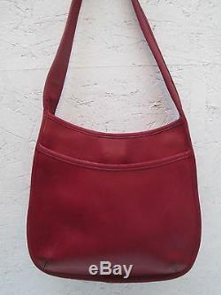 COACH authentique sac à main cuir vintage bag /