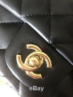 Chanel Mini Timeless Rectangulaire Cuir Dagneau Neuf