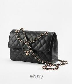 Chanel sac à main femme luxury timeless en cuir matelassé noir