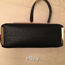 Chloé clare black handbag sac noir grand