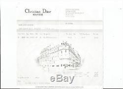 Christian Dior Authentique Sac A Main Femme Stc Green Street Cuir & Jean