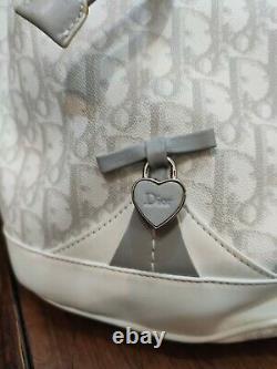 Christian Dior Sac A Main Seau Girly Cuir Hand Bah Purse