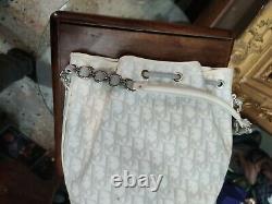 Christian Dior Sac A Main Seau Monogram Cuir Hand Bah Purse