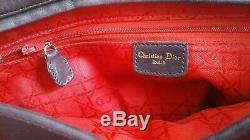 DIOR Lady Dior, cuir matelassé, leather, Handtasche, handbag, sac à main, GM