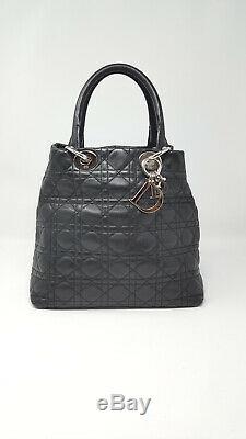 Dior Modèle Lady Dior Sac à Main Noir Agneau Black Agneau Sac à Main Femme Femme