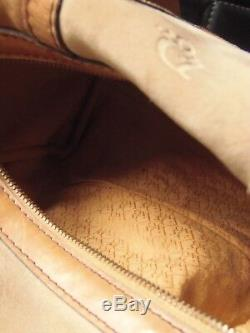 Dior Sac à main en cuir et daim cognac 1970, série limitée