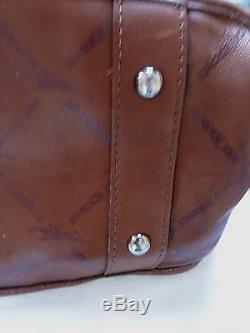 GRAND SAC A MAIN cuir marron LONGCHAMP