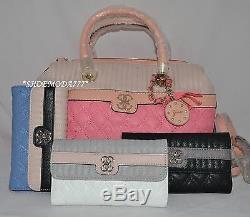 GUESS Merci Bag Sac a Main Portefeuille Lot Cuir Synthetique Charme Matelassé