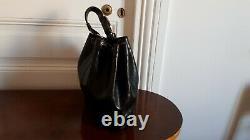 HERMÈS PARIS Sac à main modèle Market 1988 cuir noir