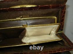 HERMÈS Sac à main Vintage Authentique Collectionneur Rare Cuir