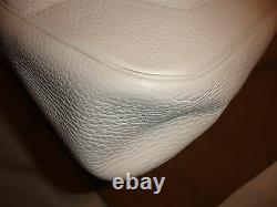 HERMES sac à main TRIM 31cm blanc Taurillon Clemence