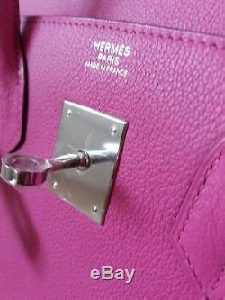 Hermes Birkin 30 cm Novillo Magnolia Palladium brand new with invoice